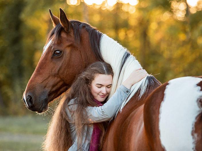 Kundenfotoshootings mit Pferden